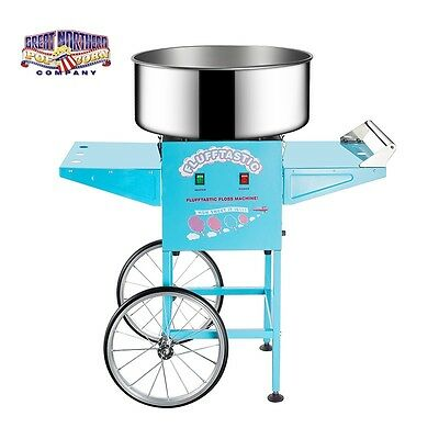 Cotton Candy Machine with Cart Floss Maker Electric 110/220v 1 Set 1050w Table