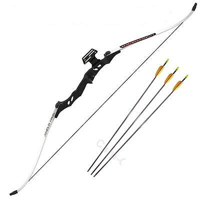40lb Tournament Take Down Archery Recurve Bow Set Includes 3 x Arrows Anglo Arms