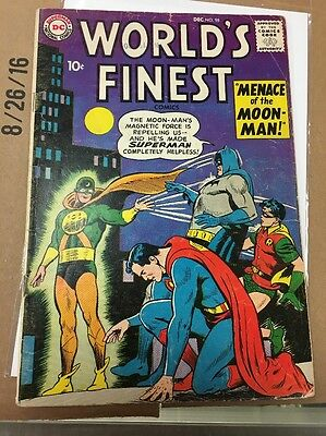 DC World's Finest Comics Issue 98 Dec 1958