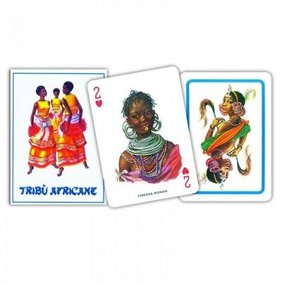 Carte POKER TRIBU' AFRICANE Modiano - 311136