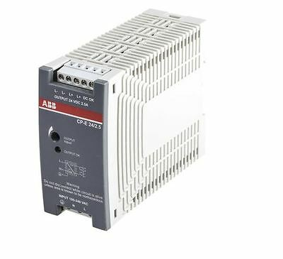 ABB Switch Mode DIN Rail Panel Mount Power Supply CP-E, 24Vdc, 2.5A