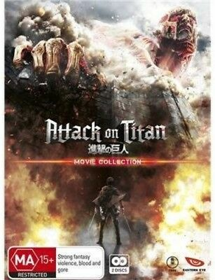Attack On Titan Movie Collection [New Blu-ray] Australia - Import
