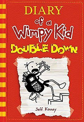 Diary of a Wimpy Kid # 11: Double Down by Jeff Kinney [Hardcover] (BRAND NEW)