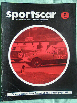Sportscar May 1964 Jaguar S type