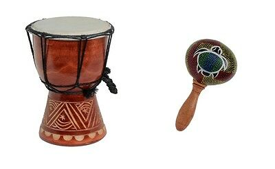 djembe trommel buschtrommel dekoration afrika 25cm eur 20 00 picclick de. Black Bedroom Furniture Sets. Home Design Ideas