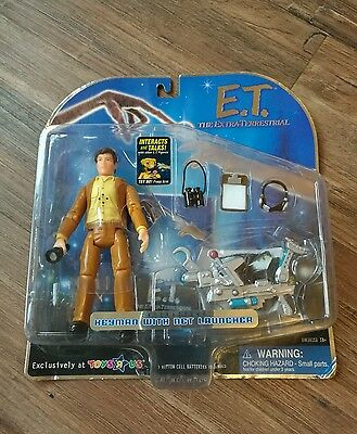 E.t. The Extra-Terrestrial Interactive Keyman With Net Launcher