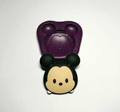 Large Tsum Tsum Mickey Mouse Silicone Mold (39mm)