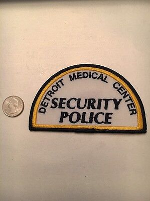 Detroit Medical Sector Security Police Patch Michigan Mi