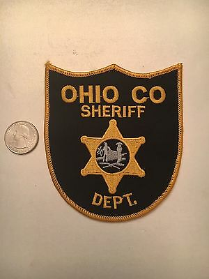 Ohio County West Virginia Sheriffs Department Police Patch Oh