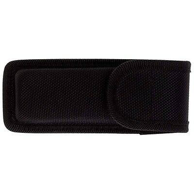 Molded Black Nylon Knife Sheath Belt Loop Pocket Knife Holster Pouch Case Holder