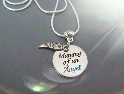 Mummy of an Angel necklace, Angel wing