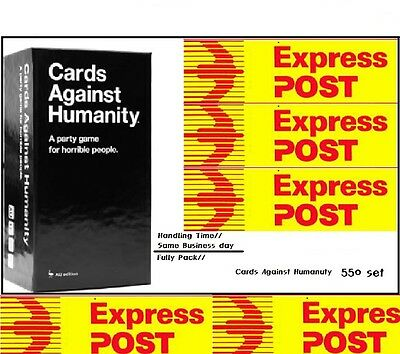 Genuine Cards Against Humanity Australia V1.7 550cards Main set Express Delivery