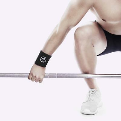 Rehband Rx Wrist Support - Black (Pair) The WOD Life Crossfit