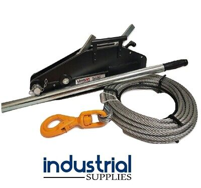 4WD Hand Winch Off Road 800KG Lifting / 1200KG Pulling 4x4 Recovery Loadset