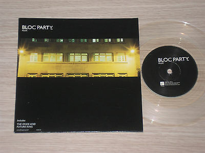 "Bloc Party - Flux / The Once And Future King - 45 Giri 7"" Clear Vinyl"