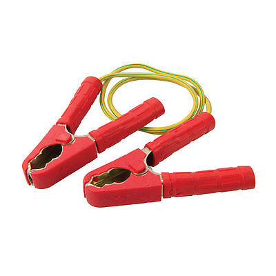 1.2M Temporary Continuity Bond Spring Loaded Plumbing Gas Work Safety Plumbers