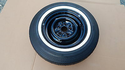New Takeoff 1966 Ford Mustang 289 H/p Firestone 500 6.95-14 White Wall Tire