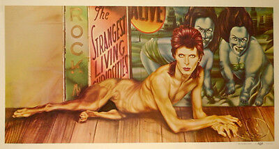 David Bowie 1974 Diamond Dogs Tour Original Promo Poster