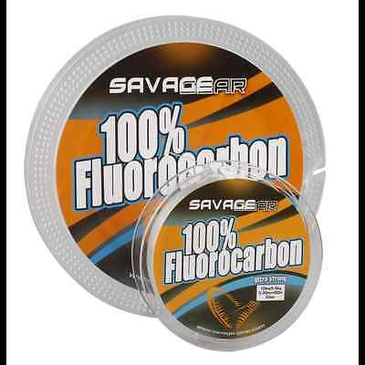 Savage Gear 100% FluoroCarbon 15m 0.75mm - 1.00mm Fishing Line 42065