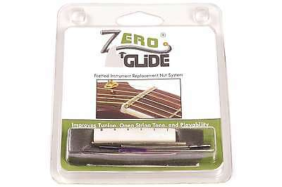 Genuine Zero Glide ZS-15 Slotted nut replacement system for Guitars - NEW