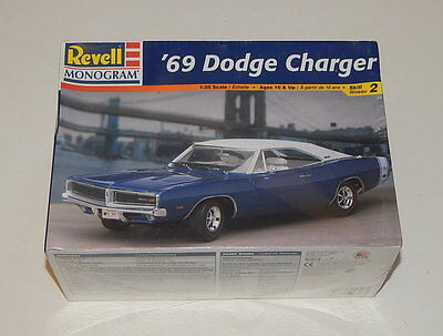 Revell Monogram '69 Dodge Charger 1/25 Model Sealed R11224