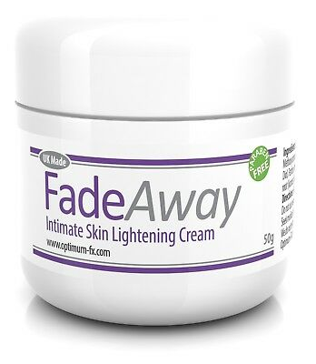 FadeAway Intimate Skin Lightening Cream Anal Vaginal Bleaching Underarm Breast