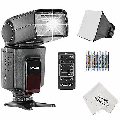 Neewer® TT560 Speedlite Flash Kit for Canon Nikon and any Digital Camera with S