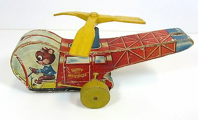 Vintage Fisher Price Happy Little Helicopter