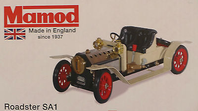 MAMOD CREAM STEAM CAR ROADSTER BRAND NEW + 20 x FUEL TABLETS