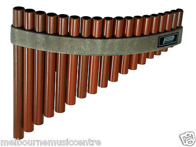 PAN FLUTE / PANPIPES 18 Hole Synthetic WoodLooking Pipes *Tunable Diatonic* NEW!