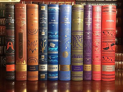 Classic Stories Ten 10 Volume Leather Bound Matching Set Brand New Collectibles