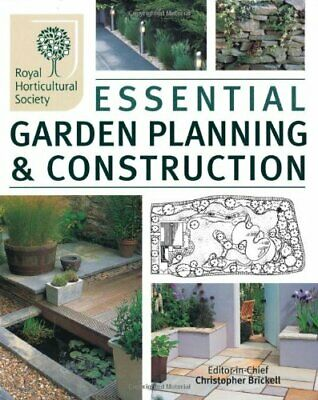 The RHS Essential Garden Planning and Construction Paperback Book The Cheap Fast