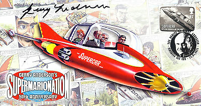 2011 Anderson - Scott 'Supercar' Off - Signed by the late GERRY ANDERSON