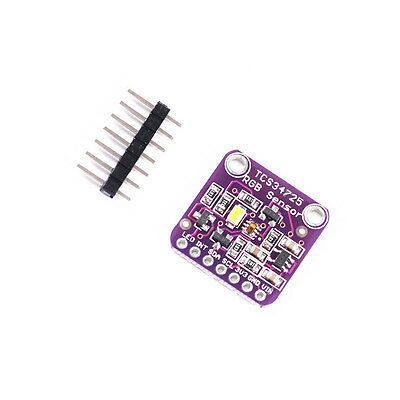 1PCS TCS34725 RGB Light Color Sensor Recognition Module For Arduino AU NEW