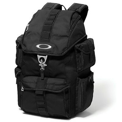 Oakley Motorcycle Sports Cycle Bike Dry Goods Travel Luggage Backpack Bag Black