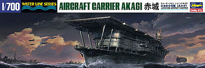 Akagi Japan Aircraft Carrier Hasegawa Kit 1:700 HGS227 Model