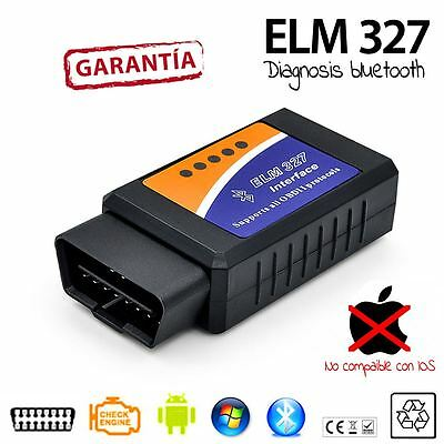 DIAGNOSIS COCHE SCANNER MULTIMARCA ELM 327 v2.1 BLUETOOTH OBD OBD2