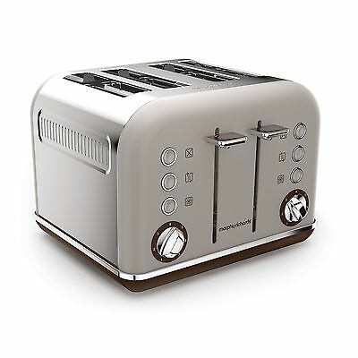 Morphy Richards 242102 Accents Special Edition 4 Slice Toaster - Pebble