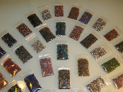 Rhinestones Glass Hotfix SS10 3MM Colour choice 36 Good Quality