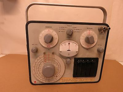 General Radio 1650-B Impedance Bridge Portable Nice condition #13
