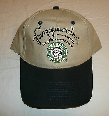 Starbucks Coffee Hat / Baseball Cap - Frappuccino One Size Fits All -- New