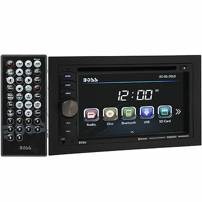 Boss BV9351B Double DIN Bluetooth In-Dash DVD/Multimedia Car Stereo Receiver
