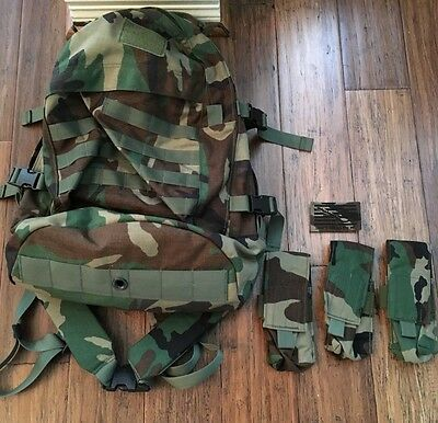 LONDON BRIDGE TRADING -LBT1476A-3DP-DTOM Pouch kit Pack WOODLAND