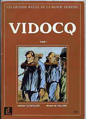 Vidocq 2 volumes Galland Ed. Prifo 1977 TBE
