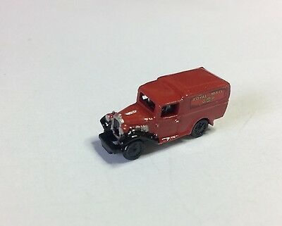 N gauge Early Royal Mail HAND-PAINTED  Austin 10 Delivery Van 1932-34 - NEW!!