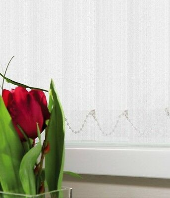 "KINETON WHITE MADE TO MEASURE VERTICAL BLIND REPLACEMENT SLATS 89mm (3.5"") WIDE"