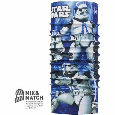 Junior Buff Licensed Star Wars Clone Blue Headwear Scarf Neck Warmer