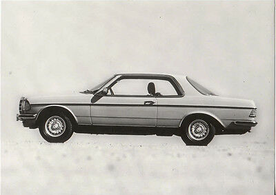 Mercedes Benz Period Photograph, Stamp On Rear For Models 230C/280C/280Ce.
