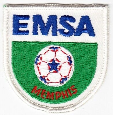 Memphis EMSA on White Twill Patch
