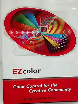 Ez color by x-rite 2007 software Monaco systems